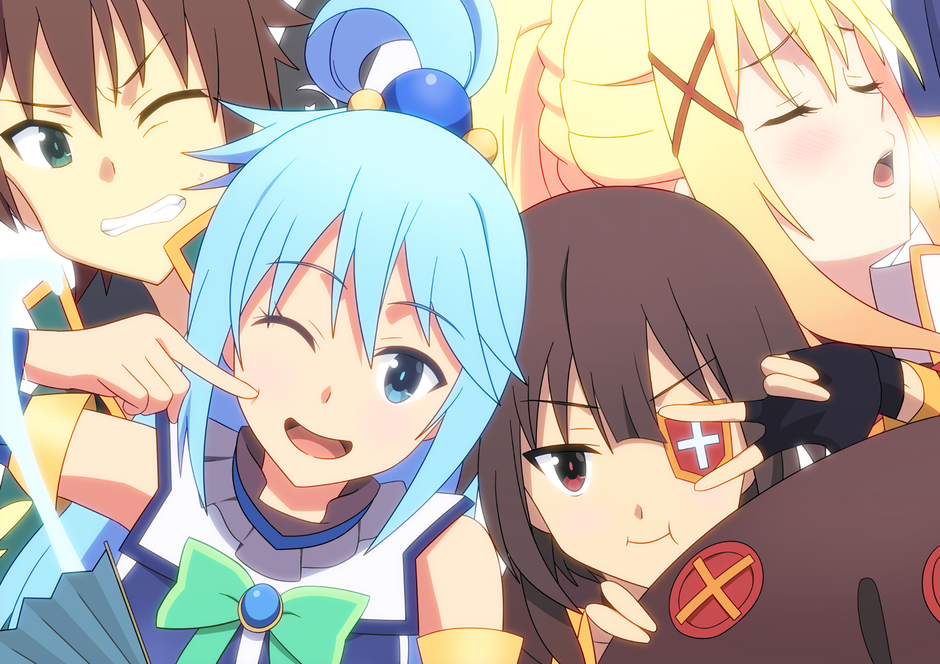 Konosuba is pretty loved not as much for its action scenes or plot but for its comedy it revolves around kazuma a guy who had died pathetically and was