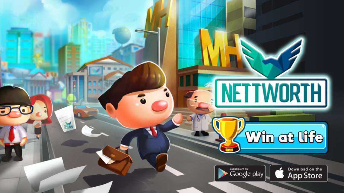 Gameka's Newest Release: 'NETTWORTH: Life Simulation Game